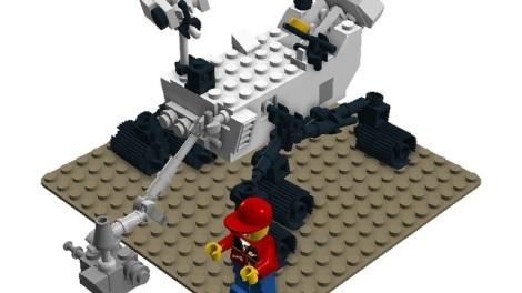Mars Rover LEGO CUUSOO