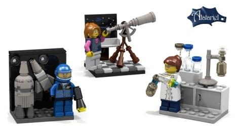 Women in Science LEGO CUUSOO